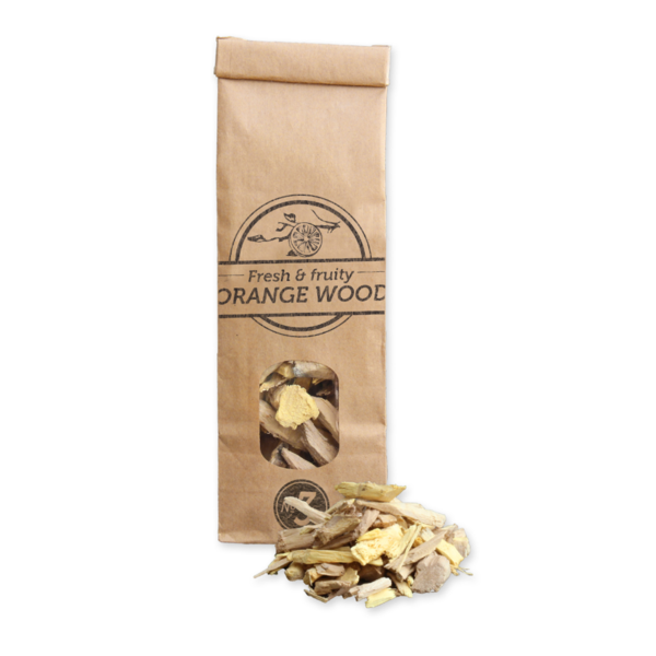 Smokey Olive Wood - Orangenholz-Chips Nº 3 (500 ml)